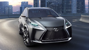 Debut For Lexus LF-NX Turbo SUV Concept At Tokyo Motor Show