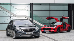 Mercedes-AMG Presents S 65 AMG And SLS AMG GT Final Edition