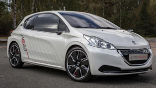 Peugeot 208 HYbrid FE Concept [video]