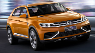 Volkswagen CrossBlue Coupe Concept Debuts in US