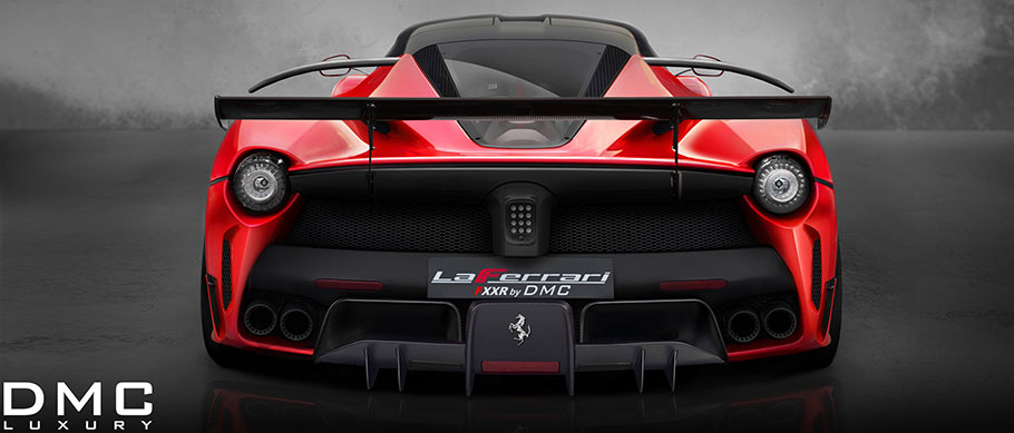 dmc laferrari fxxr rear