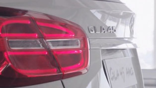 Mercedes-Benz GLA 45 AMG Concept [teaser video]