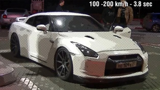 Nissan GT-R GTT 1000 - 0-300 km/h in 16 seconds