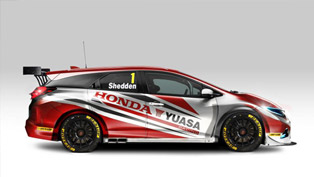 2014 BTCC Honda Civic Tourer Debuts In March