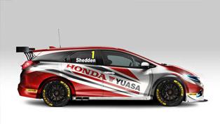 2014 BTCC Honda Civic Tourer Debuts In March