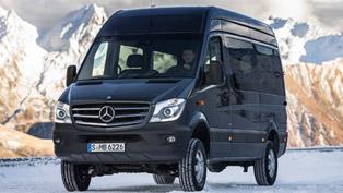 2014 Mercedes-Benz Sprinter 4x4 - A €8,391 Option