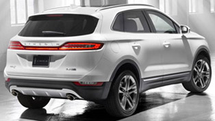 2015 Lincoln MKC - US Price $33,995