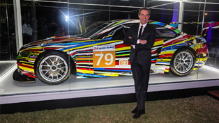 US Debut For Jeff Koons' BMW Art Car