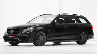 Supersized Brabus 850 6.0 Biturbo Mercedes E 63 AMG Station Wagon