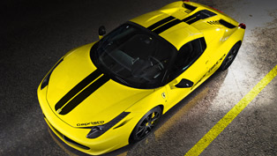 Capristo With Another Ferrari 458 Spider