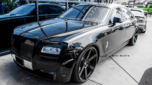 dmc touch up the rolls-royce ghost calling it the imperatore