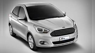Ford Ka Concept Vision Revealed In Barcelona