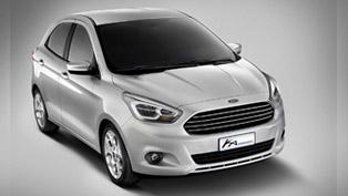 Ford Ka Concept Vision Revealed In Barcelona