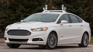 automated fusion hybrid research vehicle by ford