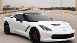 Hennesseey Chevrolet Corvette C7 Does 200 mph