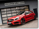 MCCHIP-DKR Gives More Power To Mercedes-Benz A45 AMG