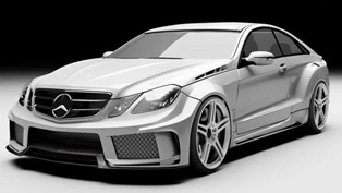 MEC Design Mercedes-Benz E-Class W207 Widebody Kit [preview]