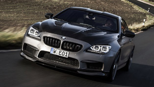 Manhart Show Off The MH6 700 BMW M6