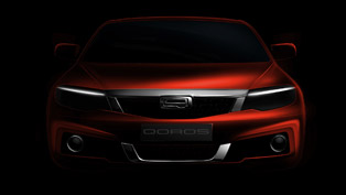 Second Model Qoros at 2014 Geneva Motor Show