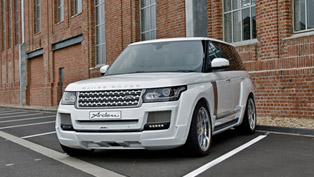 Arden Range Rover Equipped With Supercharger Kit