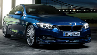 2014 bmw alpina b4 bi-turbo - 410hp and 600nm