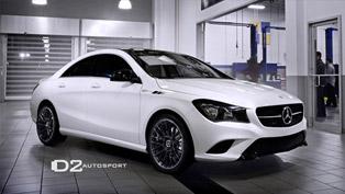 D2Autosport Reveals 2014 D2Edition Mercedes-Benz CLA250