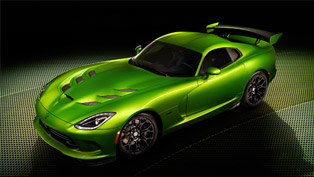 2014 Dodge SRT Viper Stryker Green Debuts At Detroit Auto Show