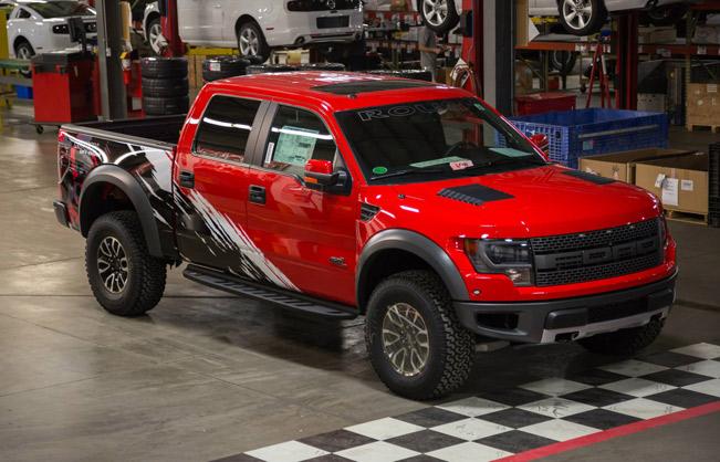 Custom Ford Raptor >> 2014 Roush Off-Road Ford F-150 SVT Raptor With Custom Graphics
