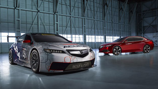 2015 Acura TLX Prototype And TLX GT Race Car Debut At NAIAS