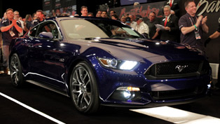 Ford Auctions First 2015 Mustang GT For $300,000