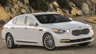 2015 Kia K900 Now With V8 Power