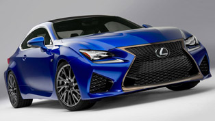 2015 Lexus RC F - 456HP and 518Nm [video]