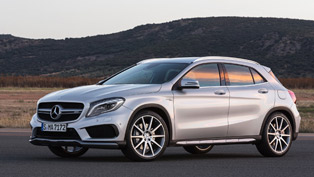 Welcome To The 2015 Mercedes-Benz GLA 45 AMG