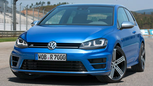 US-Spec Volkswagen Golf R at NAIAS