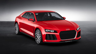Audi Debuts Sport Quattro Laserlight Concept Car At CES In Las Vegas