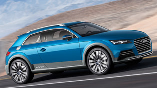Audi Shooting Brake Allroad Concept Debut at NAIAS