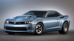 Charity: Chevrolet Auctions Rights To First 2014 Camaro COPO And Z/28
