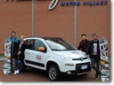 An Adventure: Fiat Panda 4x4 Antartica From Turin To Sochi