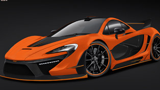 GSC McLaren P1 Night Glow [RENDER]