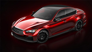 infiniti unveils q50 eau rouge concept with first image