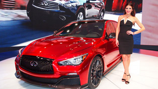 The Distinguished Infiniti Q50 Eau Rouge Design Concept