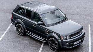 A. Kahn Design Reveales Range Rover Sport Cosworth Edition