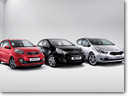 Kia Launches VR7 Line For Picanto, Rio, Cee'd