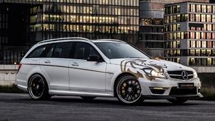 Loewenstein Impress With LM63-700 Mercedes-Benz C63 AMG