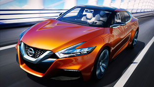 Nissan Sport Sedan Concept Previews The Future 2015 Maxima