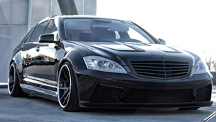 Prior Design Black Edition V2 Widebody Mercedes-Benz S-Class W221