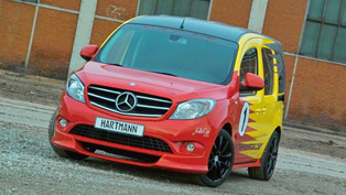 VANSPORTS by Hartmann Present the Mercedes-Benz Citan MetroStream