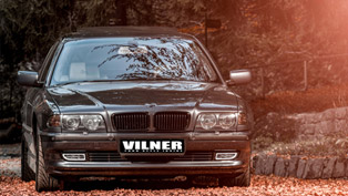 Vilner Transforms BMW 750 V12