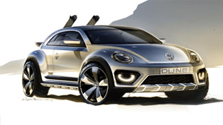 Volkswagen Beetle Dune Off-Roader Makes Debut In Detroit