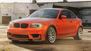 Vorsteiner And An Orange BMW E82 1M Coupe